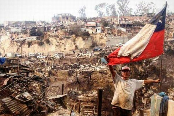 NY市の3倍の面積を焼失、史上最悪の火災でチリ政府が国家非常事態宣言を発令する