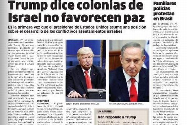 大手新聞が誤ってトランプ大統領の代わりに、モノマネする米俳優の写真を掲載してしまう