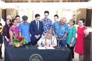 全米で初めてハワイ州が独自に「パリ協定」を順守する法律を制定