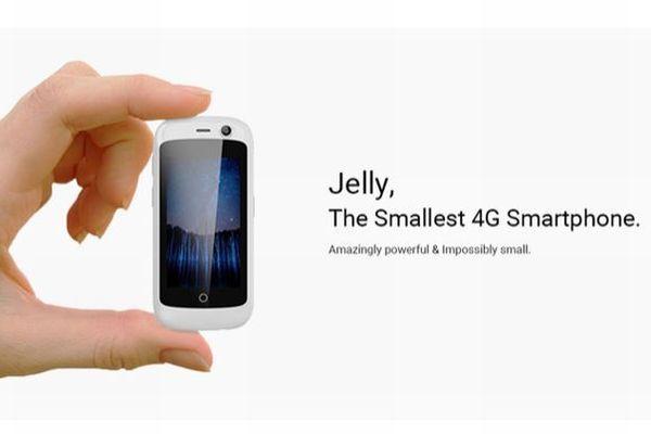 ジーンズのコインポケットにも入ってしまう、超小型スマホ「Jelly」がかわいい