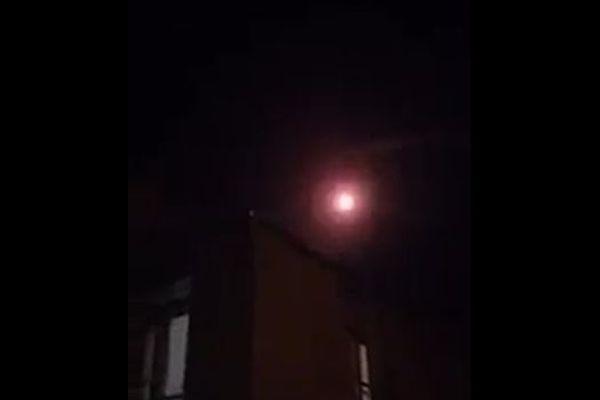 イランがシリアにあるISISの拠点に向け、弾道ミサイルを発射【動画】