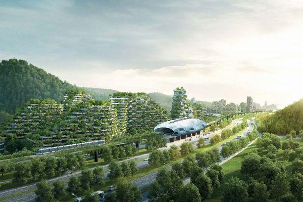 まるで建物と緑が渾然一体!中国で「森の街」計画が進行中