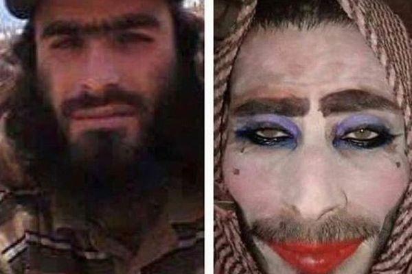 女装して逃走を図るISIS戦闘員、メイクを施した男たちの写真をイラク軍が公開