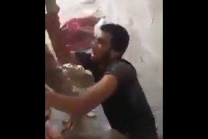 イラク軍がISIS戦闘員を処刑?捕虜を崖から突き落とす動画を公開【画像のみ】