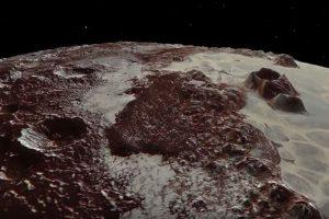 NASAが探査機のデータを元に冥王星の映像を作成、地表の詳細が明らかに