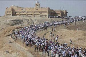 イスラエルとパレスチナの女性ら8000人が、和平合意を求めて共に行進する