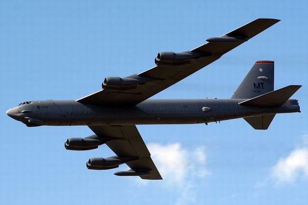 核兵器が搭載できるB52戦略爆撃機、24時間警戒態勢に入るための準備を開始か