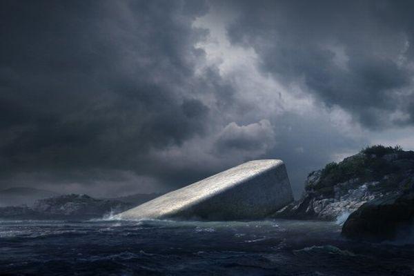 外観はまるで海から突き出た岩のよう!欧州初の水中レストランが来年オープン