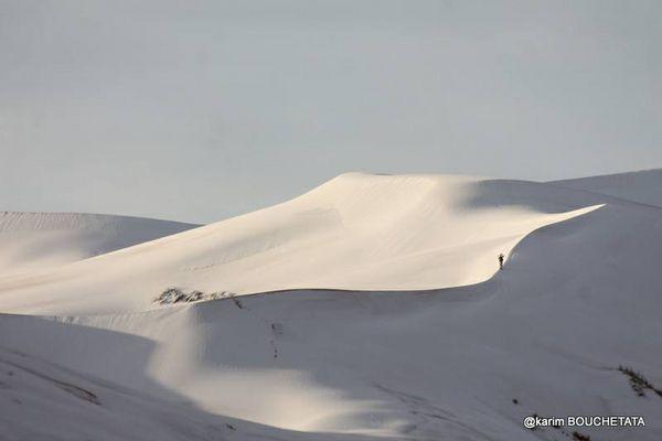 あのサハラ砂漠に再び降雪、今度は砂丘も雪ですっぽり覆われてしまう