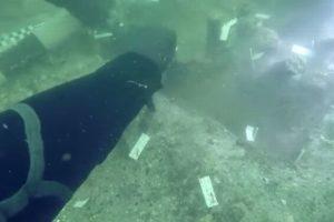 海底に7000年前のネイティブ・アメリカンの埋葬地、ダイバーが偶然発見