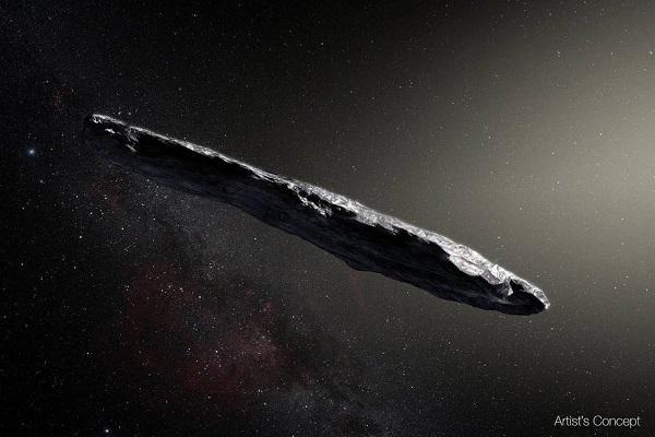 太陽系外から飛来した初の天体「オウムアムア」、その起源が明らかに