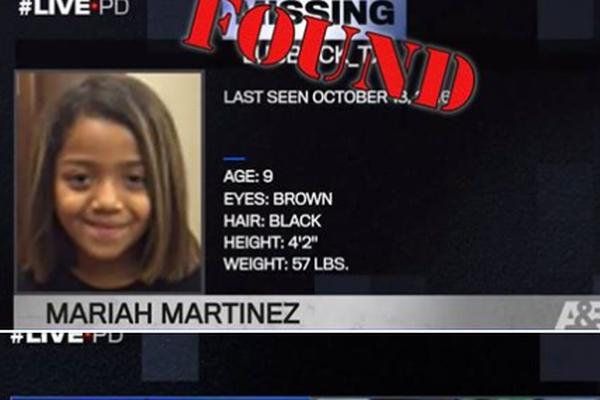 2年前に失踪していた少女、テレビ番組の視聴者からの通報で無事保護される