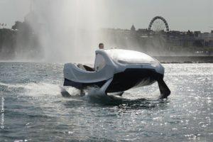 """フランス・スイスの湖で""""空飛ぶ水上バス""""の運航を計画、様々な懸念も浮上"""