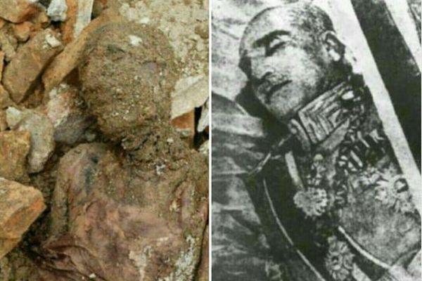 イランの前国王の遺体か?建設現場で発見されたミイラに注目が集まる