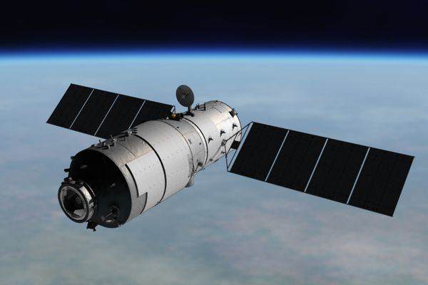 中国の「天宮2号」も大気圏再突入を計画か?高度の低下が確認される