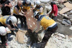米政府、シリアの「ホワイトヘルメット」への資金援助を再開すると発表