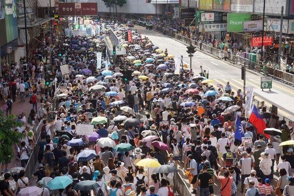 民主化運動が弱まっている?香港の抗議集会で参加者が過去最低を記録