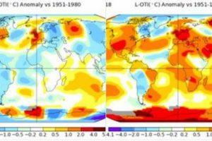40年前がうらやましい!熱波の分布を示した2つの世界地図が違いすぎる