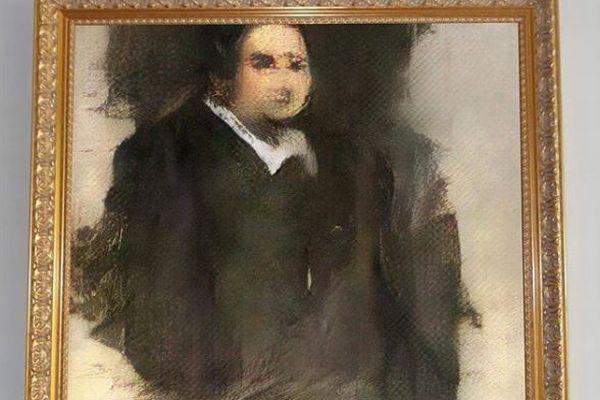 AIで描かれた肖像画が初めてNYのオークションへ出品、最低価格は110万円