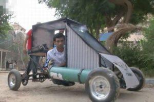 時速40km、走行距離30kmを達成!エジプトの大学生らが酸素で走る車を開発