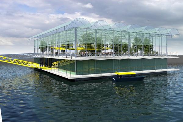 未来の牧場?オランダで世界初の水に浮かぶ酪農場が誕生予定