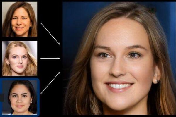 AIが「存在しない人間の顔」を作成、その過程を示した動画が公開される