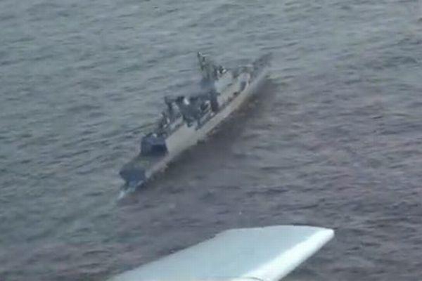 韓国海軍のレーダー照射問題、防衛省が哨戒機の動画を公開
