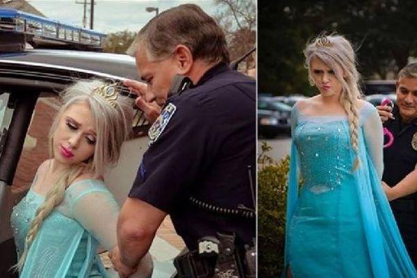 エルサが逮捕?寒波に襲われたイリノイ州の警察が投稿した写真がユニーク