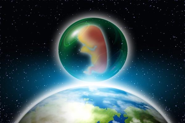 惑星移住に向けて、妊婦をロケットに乗せた出産実験計画が進行中