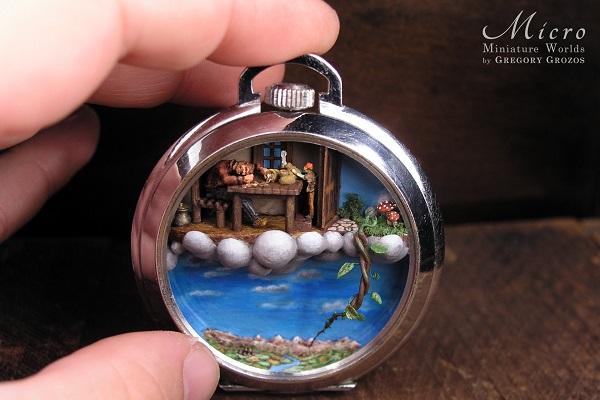 """腕時計からイヤリングまで!アクセサリーで小さな""""世界""""を作るアーティストの作品がすごい"""