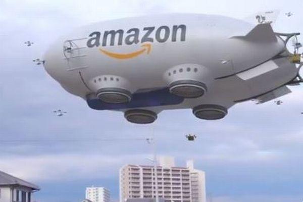 アマゾンの新デリバリーシステムか?日本人アーティストが作った動画が海外で話題に