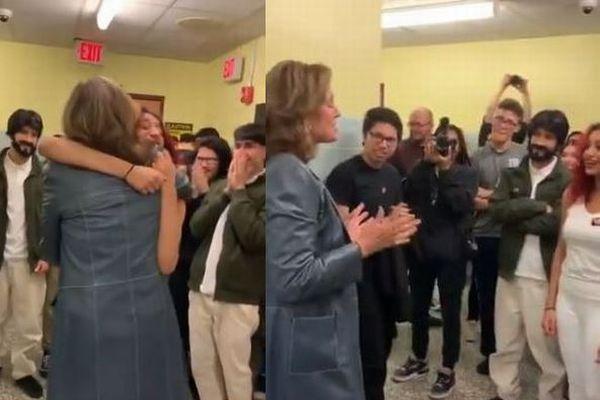 米で舞台『エイリアン』を演じた高校生の元へ、シガニー・ウィーバーが現れサプライズ
