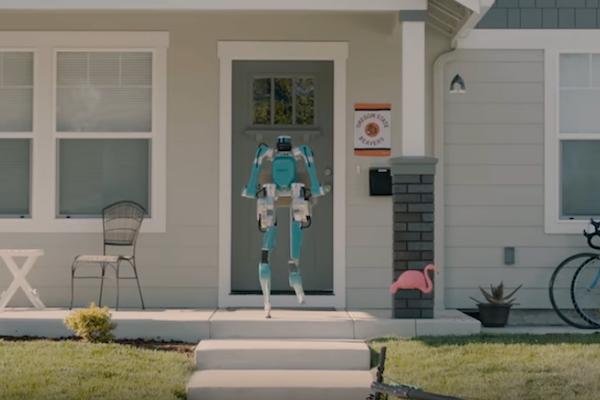 玄関に宅配ロボットがやってくる! フォード社が本気で実験中
