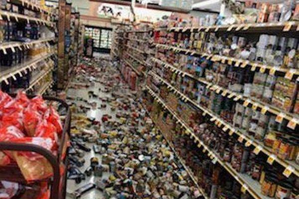 カリフォルニアでM6.4の地震、動画で撮影された当時の状況とは?