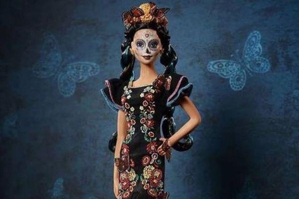 メキシコの「死者の日」を記念して、骸骨メイクのバービー限定モデルを販売