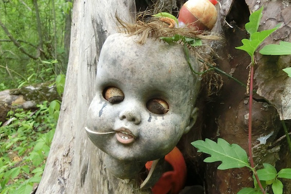 ジョージア州にある「人形首ハイキングコース」がおぞましい