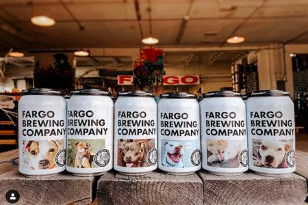 ビール会社が動物愛護に協力、缶に里親募集の犬の顔