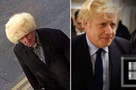 英警察が公開した自転車泥棒の写真、B・ジョンソン首相に似ていると指摘される