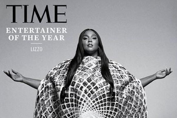 TIME誌の「今年のエンターテイナー」にLizzoが選ばれる