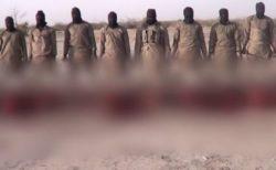 ナイジェリアのISISグループが11人のキリスト教徒を処刑、動画を公開