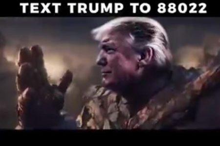 トランプ大統領が選挙活動の動画で「サノス」を無断使用、クリエイターが批判