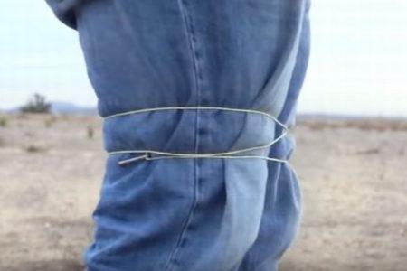 体に巻きついて身動きできない!米企業が犯人を拘束する新たな道具を開発