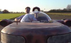 英のユーチューバーが『スター・ウォーズ』のランドスピーダーを製作