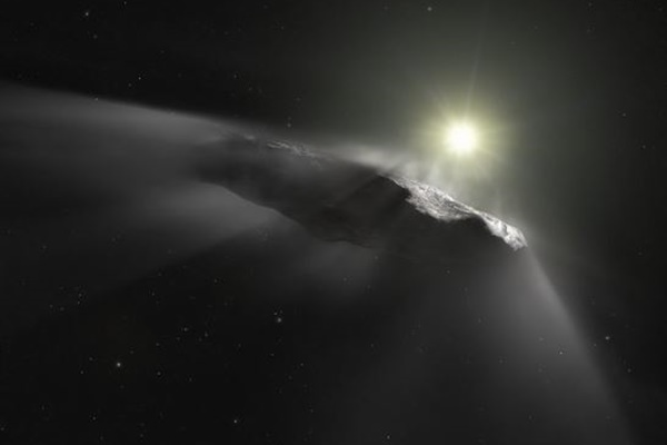 ピラミッドの形をした小惑星が、すでに地球のそばを通過していた