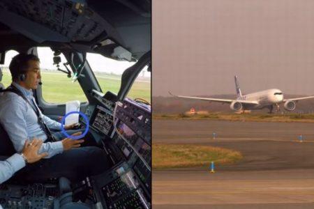 Airbus社が旅客機による「自動離陸」のテストを実施、4時間半で8回も成功【動画】