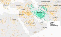 イランの場所はどこ?正確に答えられた米国人は23%