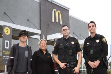 マックで注文のふりして助けを求めたDV被害女性、店員のスマートな対応で男は逮捕