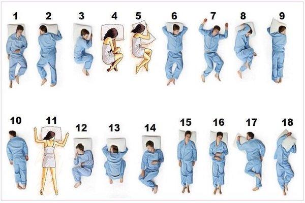 ベストの寝相はどれ?海外SNSで論議沸く