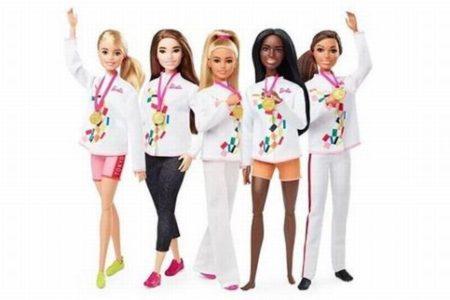 5種目の選手になって登場、バービー人形「Tokyo2020コレクション」を発表