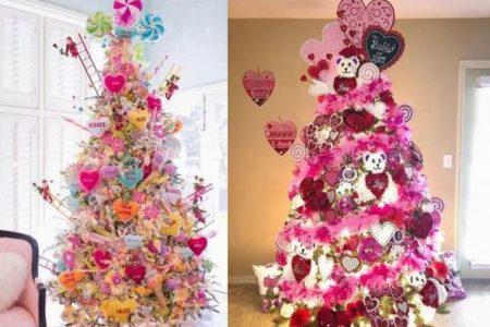 2月14日の新しいトレンド、部屋に「バレンタイン・ツリー」を飾るのが人気